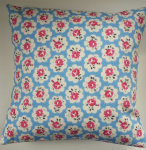 "Cushion Cover in Cath Kidston Large Provence Rose Blue 14"" 16"" 18"" 20"""